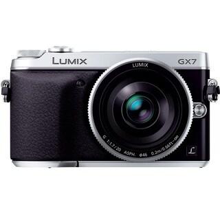 Panasonic LUMIX GX7 DSLM Camera with LUMIX G 20mm F1.7 II ASPH Lens