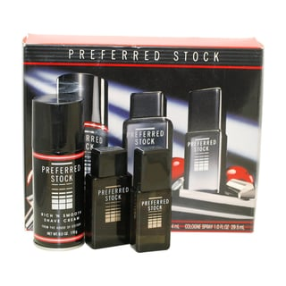 Coty Preferred Stock Men's 3-piece Cologne and Shaving Gift Set