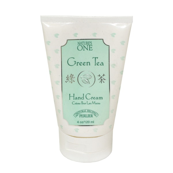 Perlier Nature's One Green Tea 4.0-ounce Hand Cream