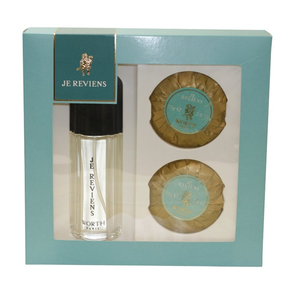 Worth 'Je Reviens' Women's 3-Piece Gift Set