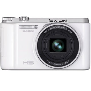 Casio Exilim EX-ZR1000 16.1MP White Digital Camera