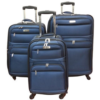 Kenneth Cole Express Lane 3-piece Spinner Luggage Set