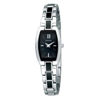 Pulsar Women's Black Enamel Fashion Watch