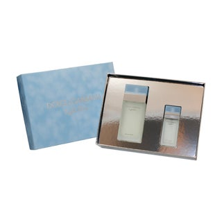 Dolce & Gabbana 'Dolce & Gabbana Light Blue' Women's 2-Piece Gift Set