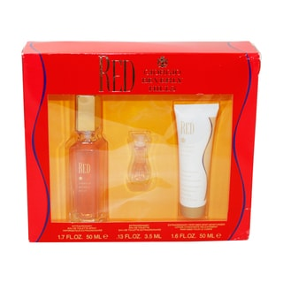 Giorgio Beverly Hills Red Women's 3-piece Gift Set
