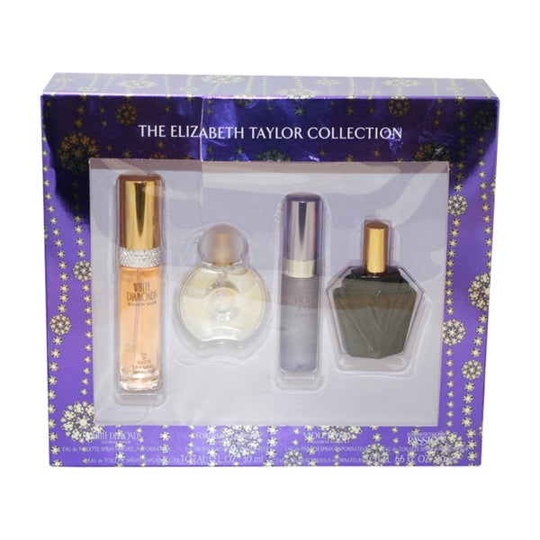 The Elizabeth Taylor Collection Women's 4-piece Gift Set