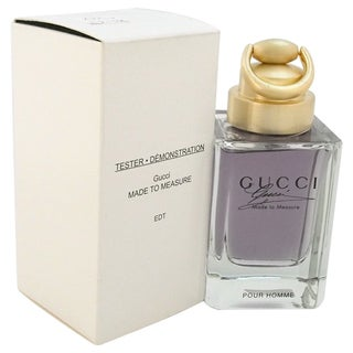 Gucci 'Made to Measure' Men's 3-ounce Eau de Toilette Spray (Tester)