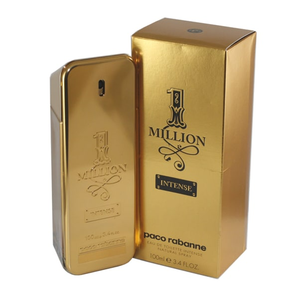 Paco Rabanne 1 One Million Intense Men's 3.4-ounce Eau de Toilette Intense Spray