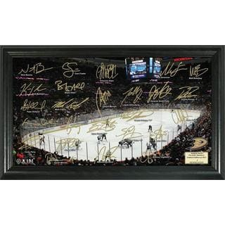 Anaheim Ducks Signature Rink Framed Team Photo