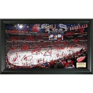 Detroit Red Wings Signature Rink Framed Team Photo