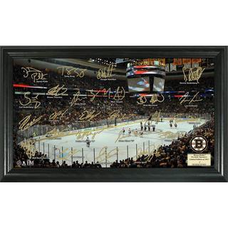 Boston Bruins Signature Rink Framed Team Photo