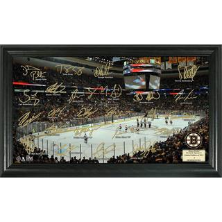 Boston Bruins Signature Rink Framed Team Photo