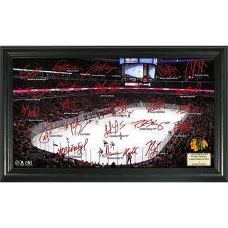 Chicago Blackhawks Signature Rink Framed Team Photo