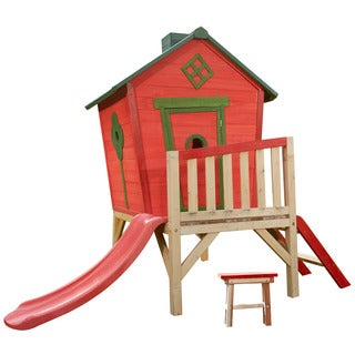 Swing-N-Slide Little Red Playhouse