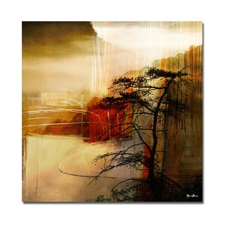 Alexis Bueno 'Abstract Landscape III' Oversized Canvas Wall Art
