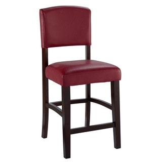 Monaco Dark Red Counter Stool