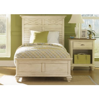 Liberty Ocean Isle Panel Bed and Nightstand