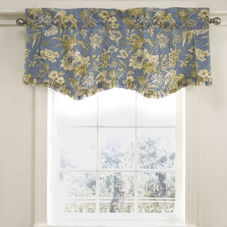 Cotton 18-inch Waverly Augustine Lined Window Valance