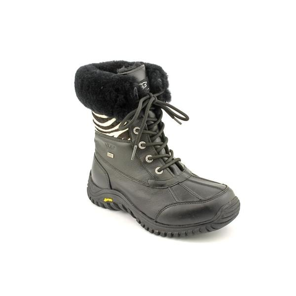 Ugg Australia Women's Black 'Adirondack' Leather Boots