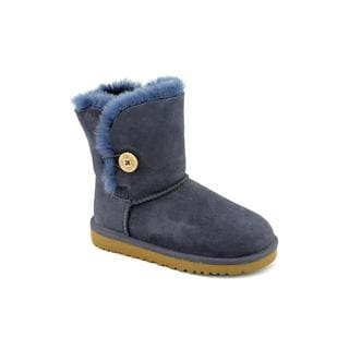 Ugg Australia Girl (Youth) 'Bailey Button' Regular Suede Boots