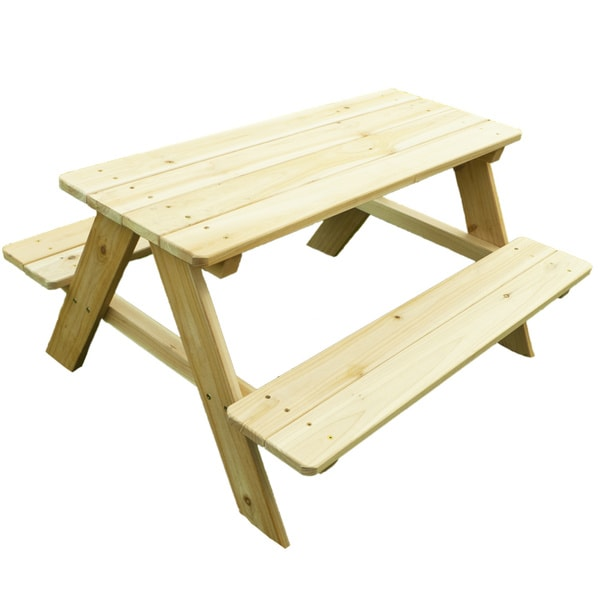 little colorado child 39 s wooden picnic table