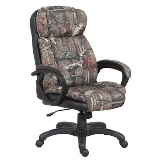 Mossy Oak Camouflage Executive Chair