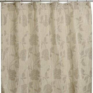 Marchesa Stone Embroidered Shower Curtain