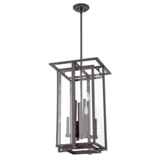 Quoizel Fixture 8-light Western Bronze Chandelier