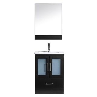 Virtu USA 'Ava' 24-inch Espresso Single Sink Vanity