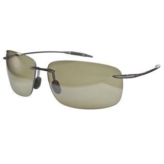 Maui Jim Breakwall Black Green Sunglasses