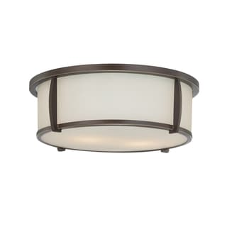 Quoizel 2-light Palladian Bronze Flush Mount
