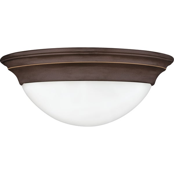 Summit 1-light Palladian Bronze Flush Mount