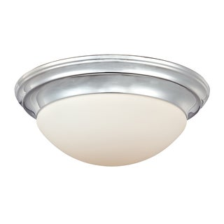 Summit 3-light Polished Chrome Flush Mount