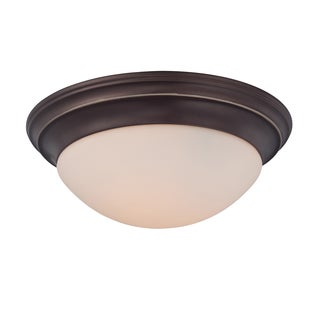 Summit 3-light Palladian Bronze Flush Mount