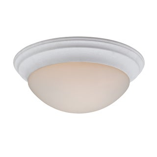 Summit 3-light Fresco Flush Mount