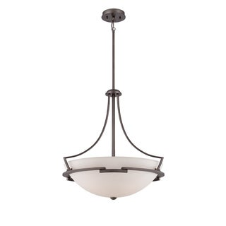 Parkston 4-light Powder Grey Pendant