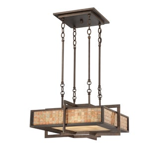 Quoizel 4-light Renaissance Copper Pendant