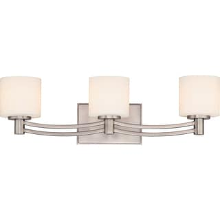 Perry 3-light Antique Nickel Bath Fixture