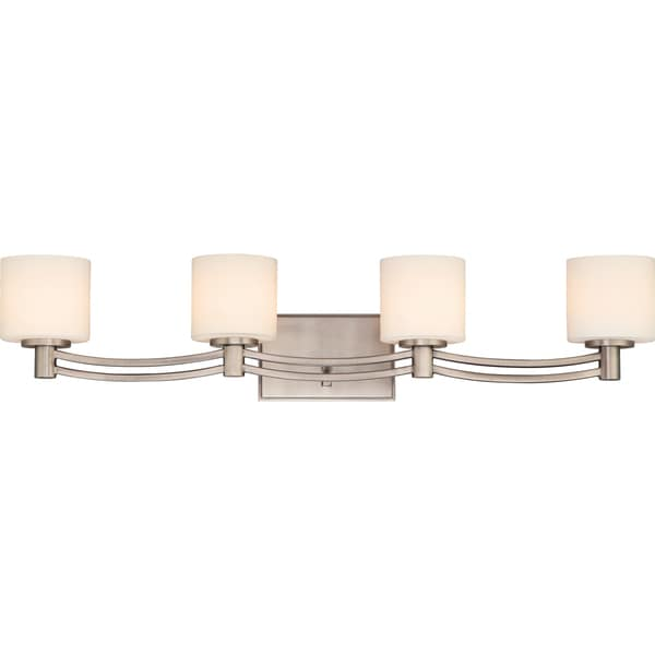 Perry 4-light Antique Nickel Bath Fixture