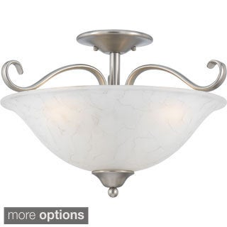 Quoizel 'Duchess' Semi-flush Indoor 3-light Mount