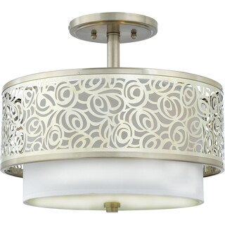 Quoizel 'Josslyn' Semi-flush Mount