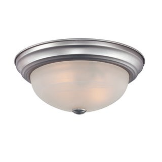 Quoizel 'Manor' 3-light Flush Mount