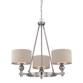 Quoizel 'Metro' 3-light Chandelier