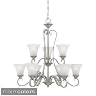 Quoizel Duchess Two-Tier 9 Light Chandelier