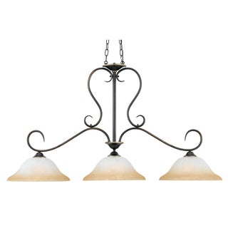 Quoizel 'Duchess Island' 3-light Chandelier