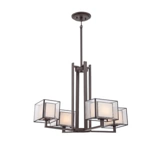 Quoizel 'Ferndale' 4-light Chandelier