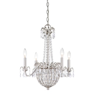 Quoizel 'Jolene' 4-light Chandelier