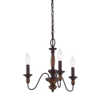 Quoizel 'Holbrook' 3-light Chandelier