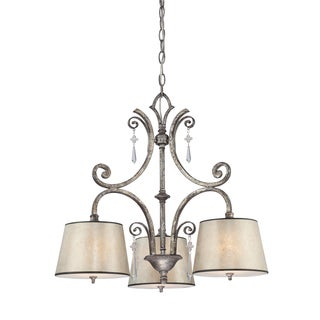 Quiozel 'Kendra' 3-light Chandelier