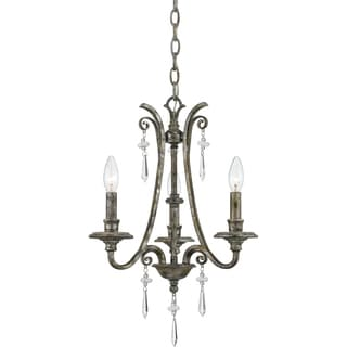 Quoizel 'Kendra' 3-light Chandelier